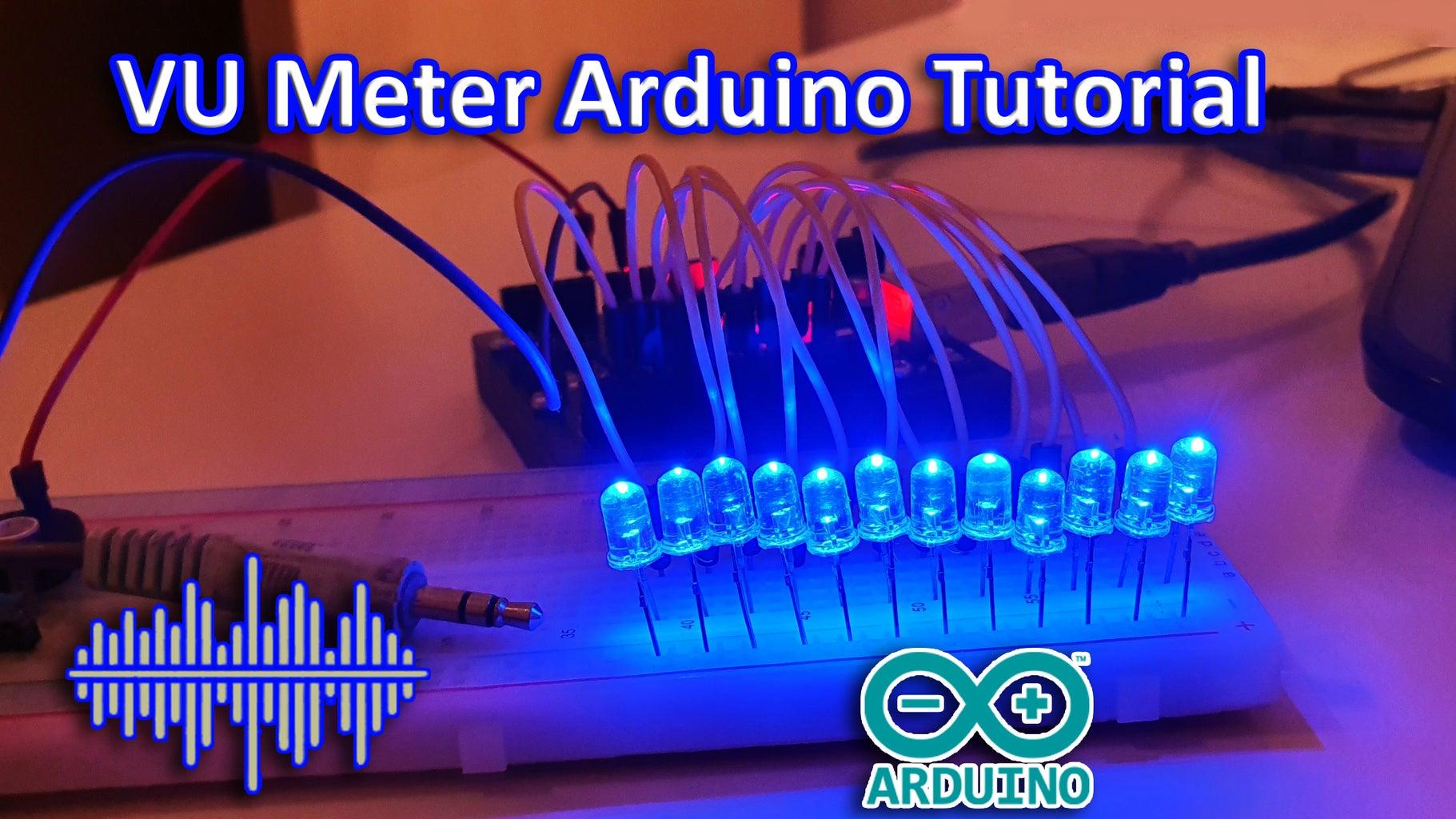 VU Meter Using Arduino