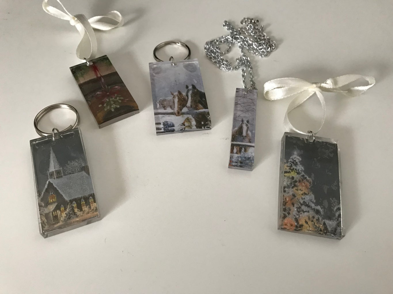 Easy Resin Ornaments and More