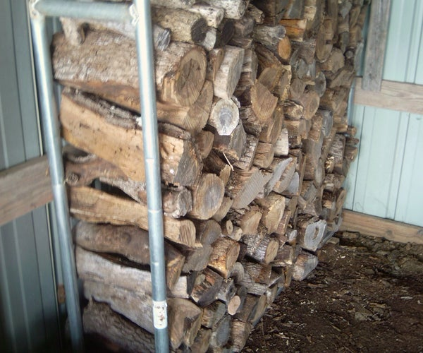Firewood Rack-Trampoline Reincarnated