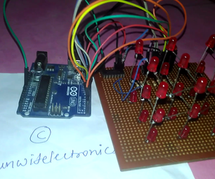 LED Cube Using Arduino