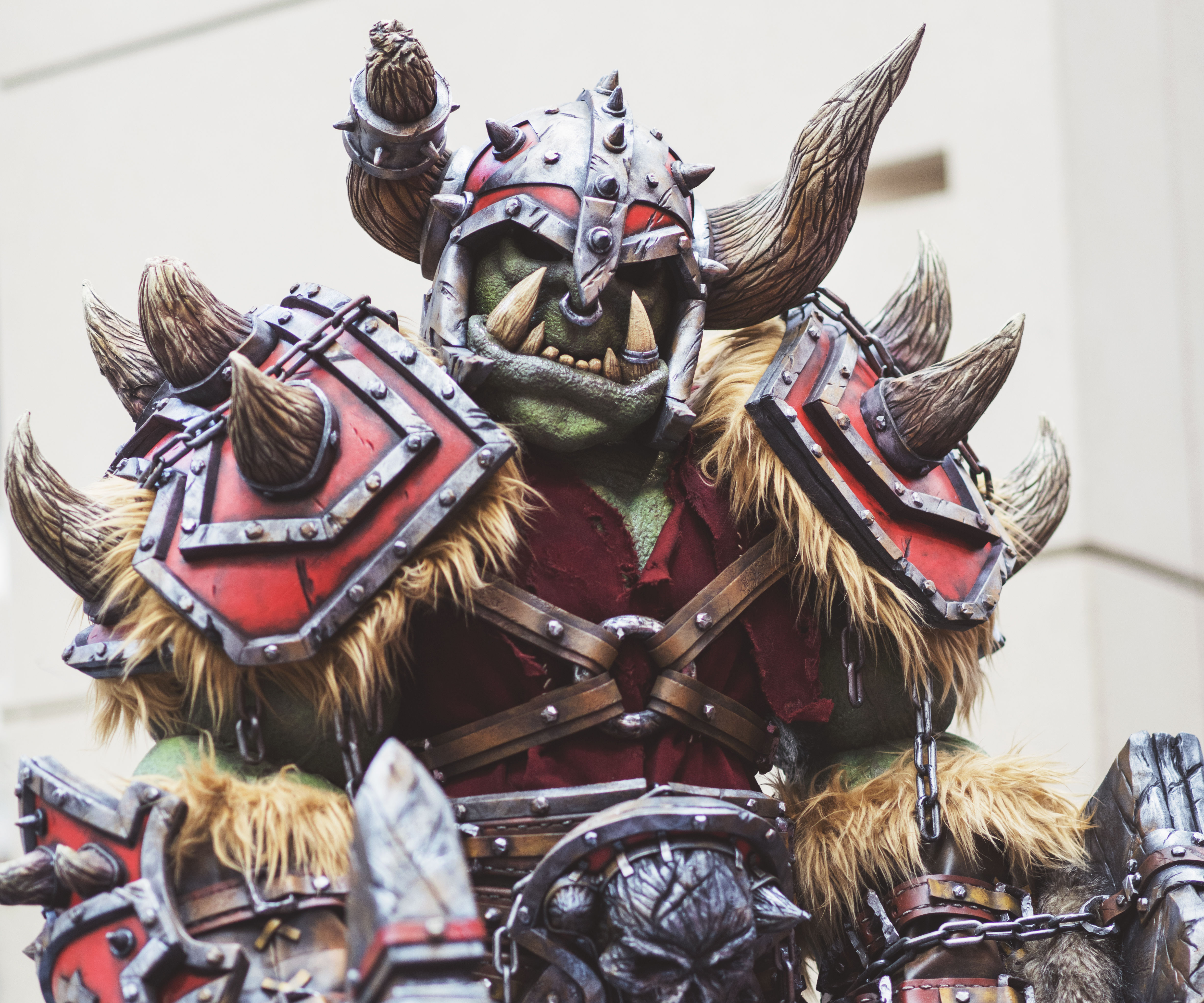 WarCraft Warsong Orc Full Size Costume Cosplay