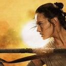 The Force Awakens-Rey's Triple Bun Hairstyle