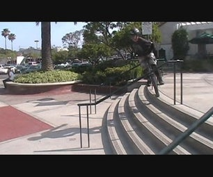 """UNigeezer: Unicycle Tutorial #3 """"how to Hop Stair Sets Both Static & Rolling"""
