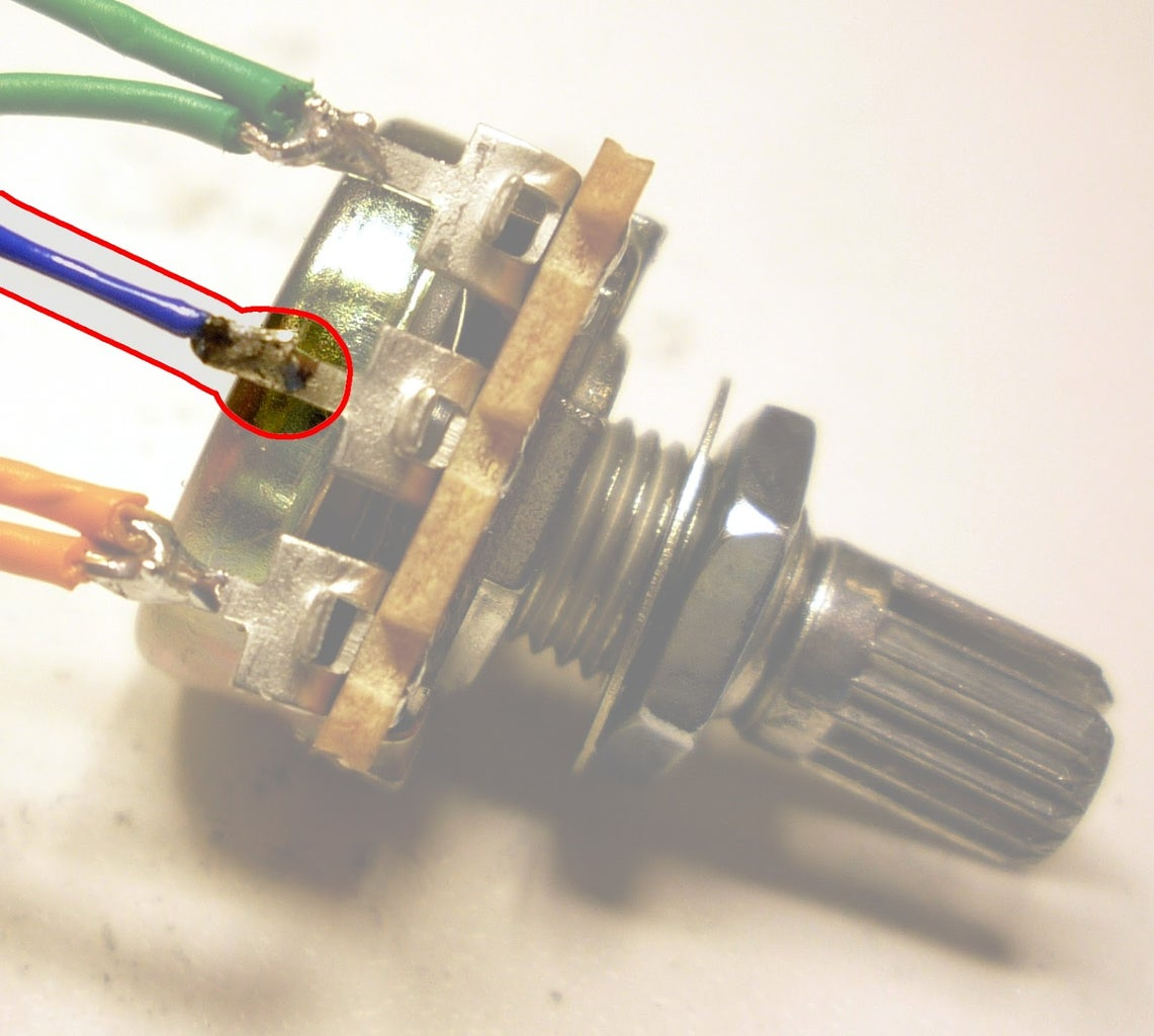 Excavate a Landfill to Find a Second Potentiometer