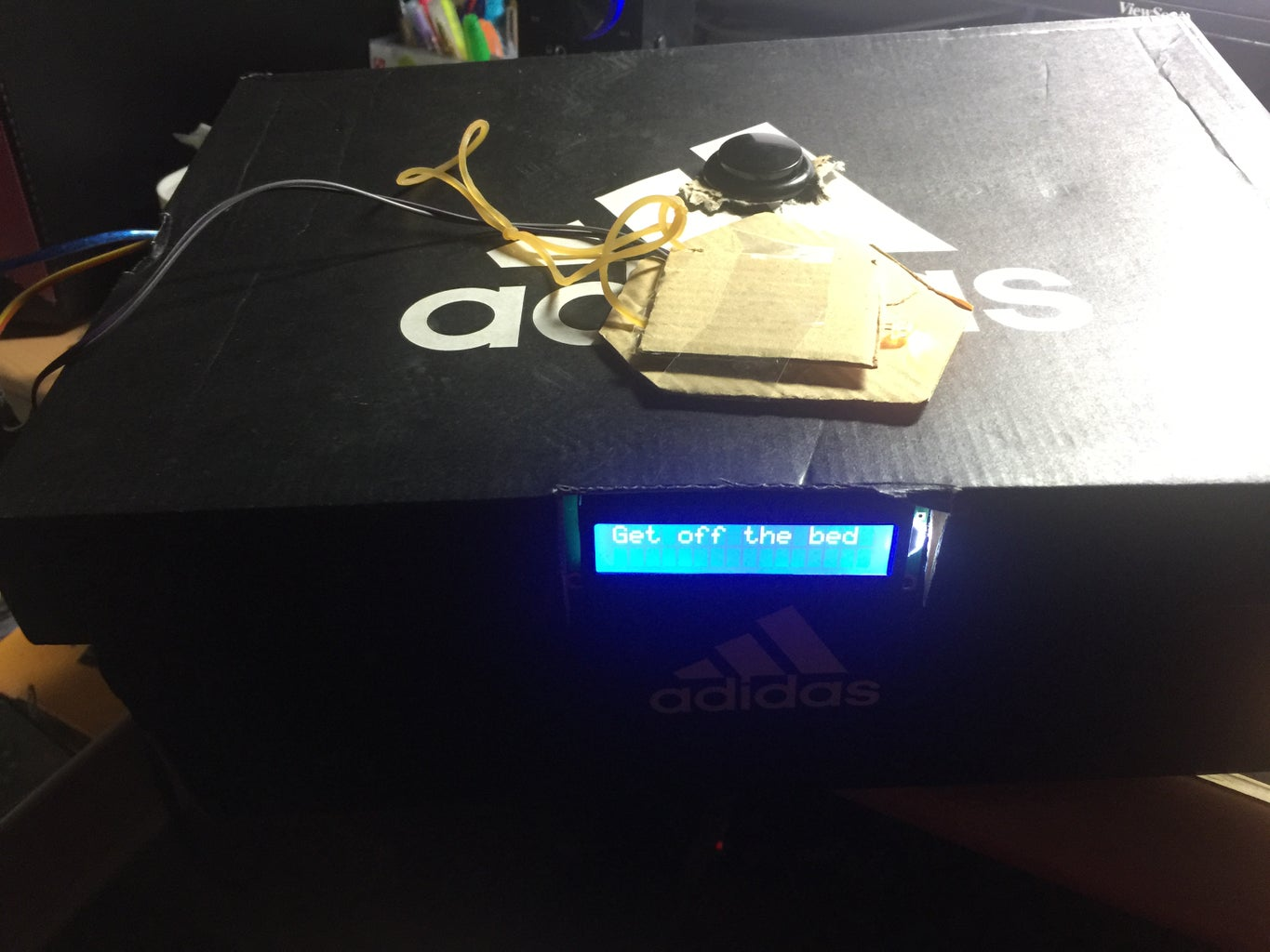 Arduino Get Off Bed System