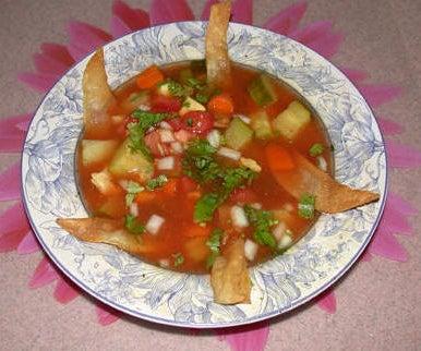 Haven's Mexican Tortilla Soup
