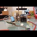 Electric Motor Generator DIY Powered With  1.25 V and 0.054 Ma