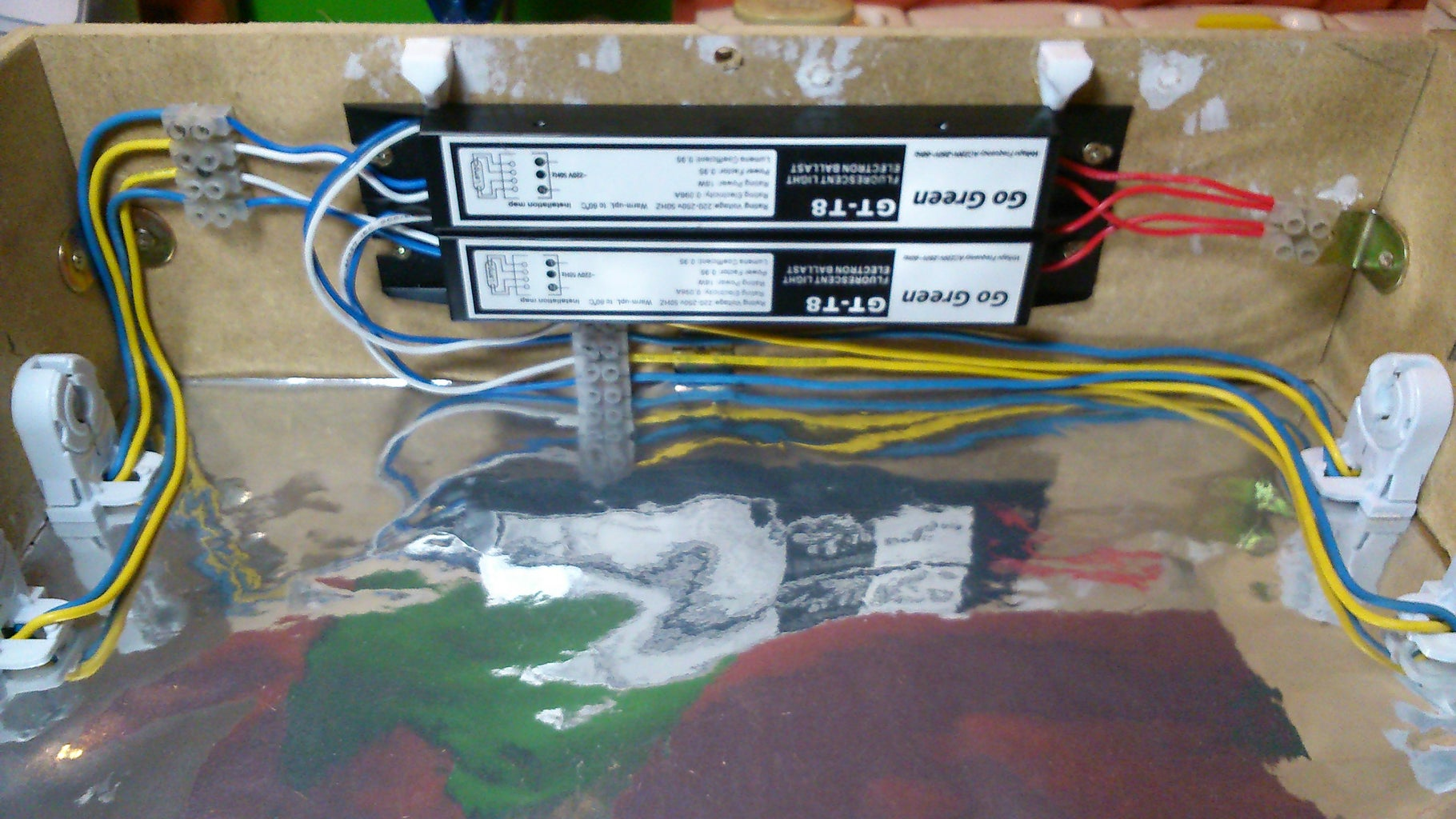 Electronic Ballast & Lamp Holders