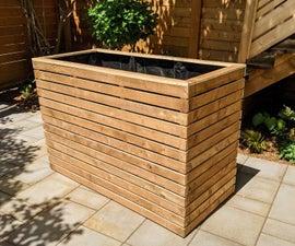 Supersized Planter Box