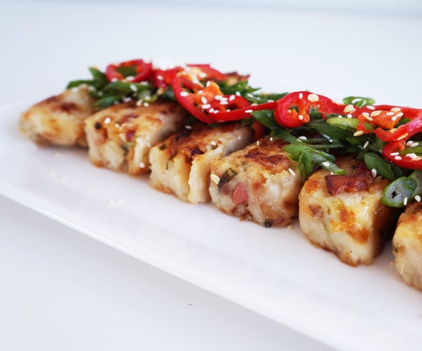 Chinese Radish Cake (Lo Bak Go) Gluten-Free