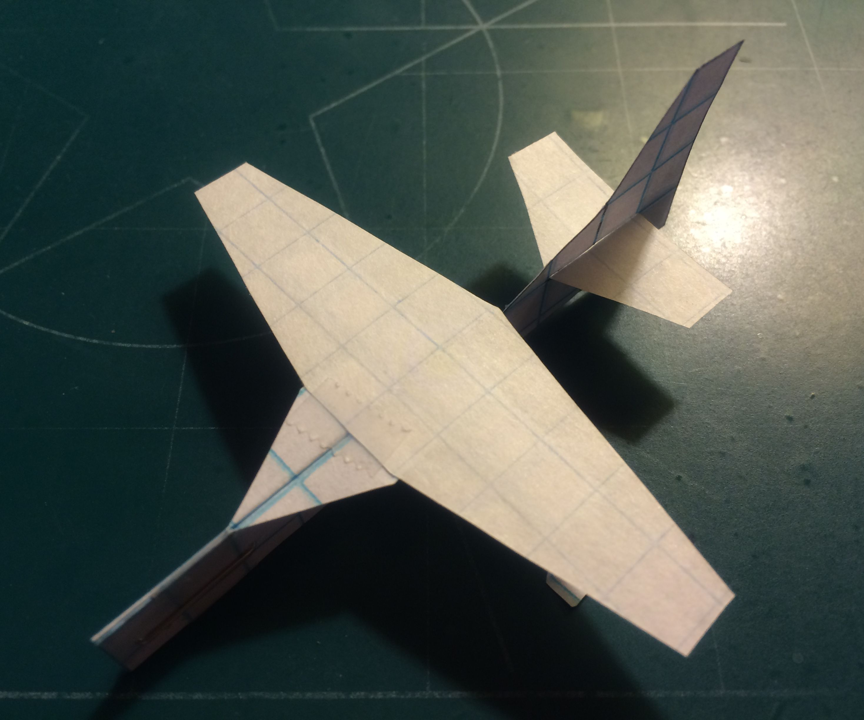 How To Make The Trekker Paper Airplane