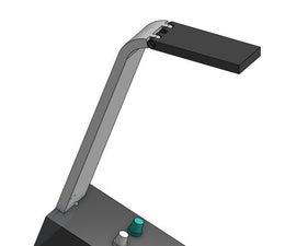 Neopixel Colour Selectable Desk Lamp