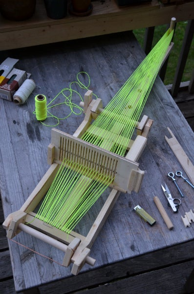 Scrapwood Loom