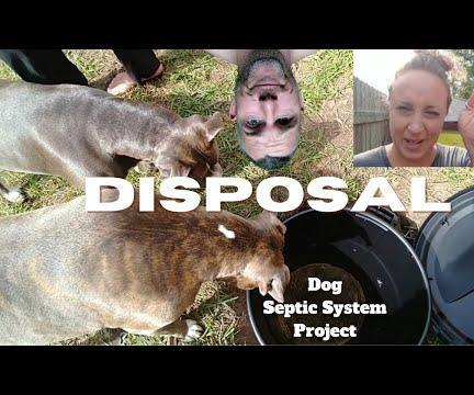 Make an Animal Waste Septic System