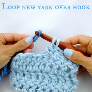 Loop Your New Yarn Color Over Your Hook!