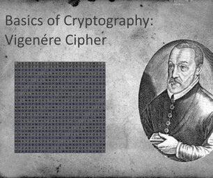 Basics of Cryptography: Vigenére Cipher
