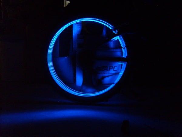 DIY Simple LED Bike Tires