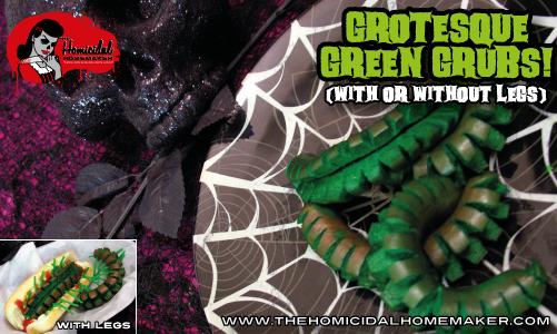 Grotesque Green Grubs