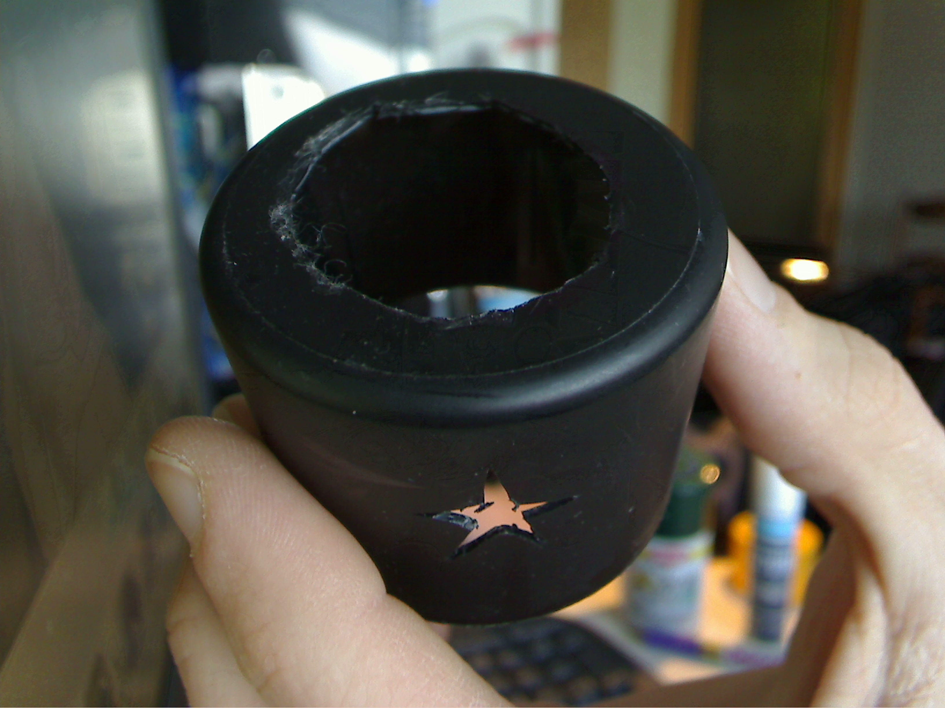 Multi stencil cap for 3oz. spray can