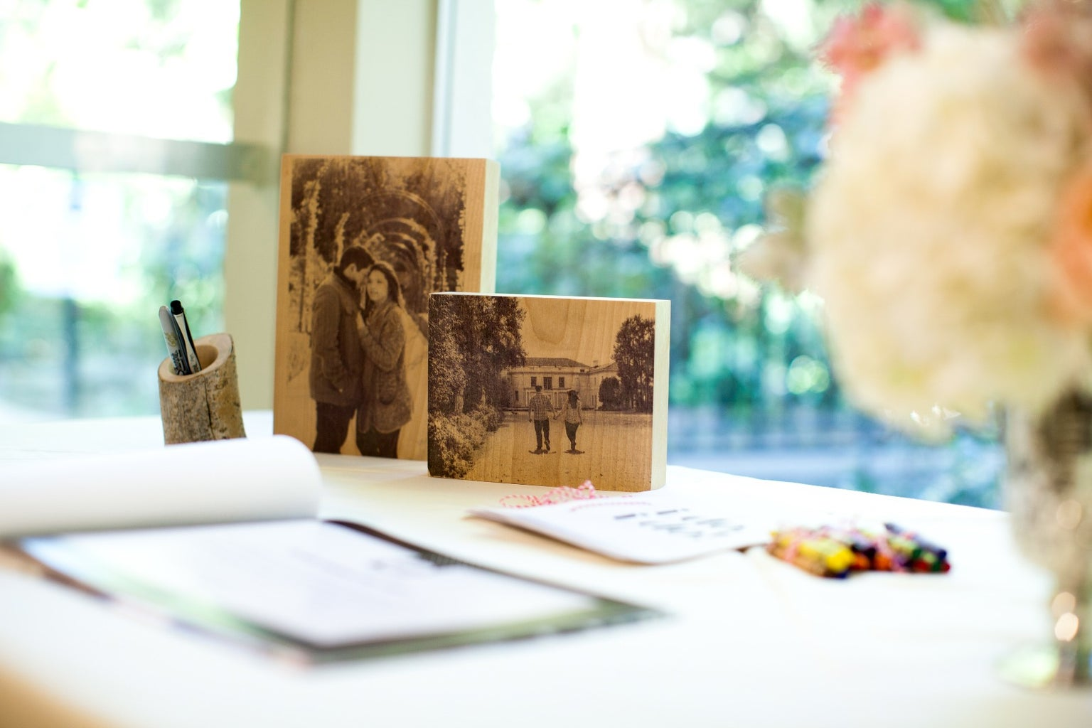 Decorate Your Wedding With Wood 8 in 1 Instructable