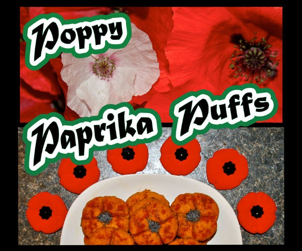 Poppy Paprika Puffs