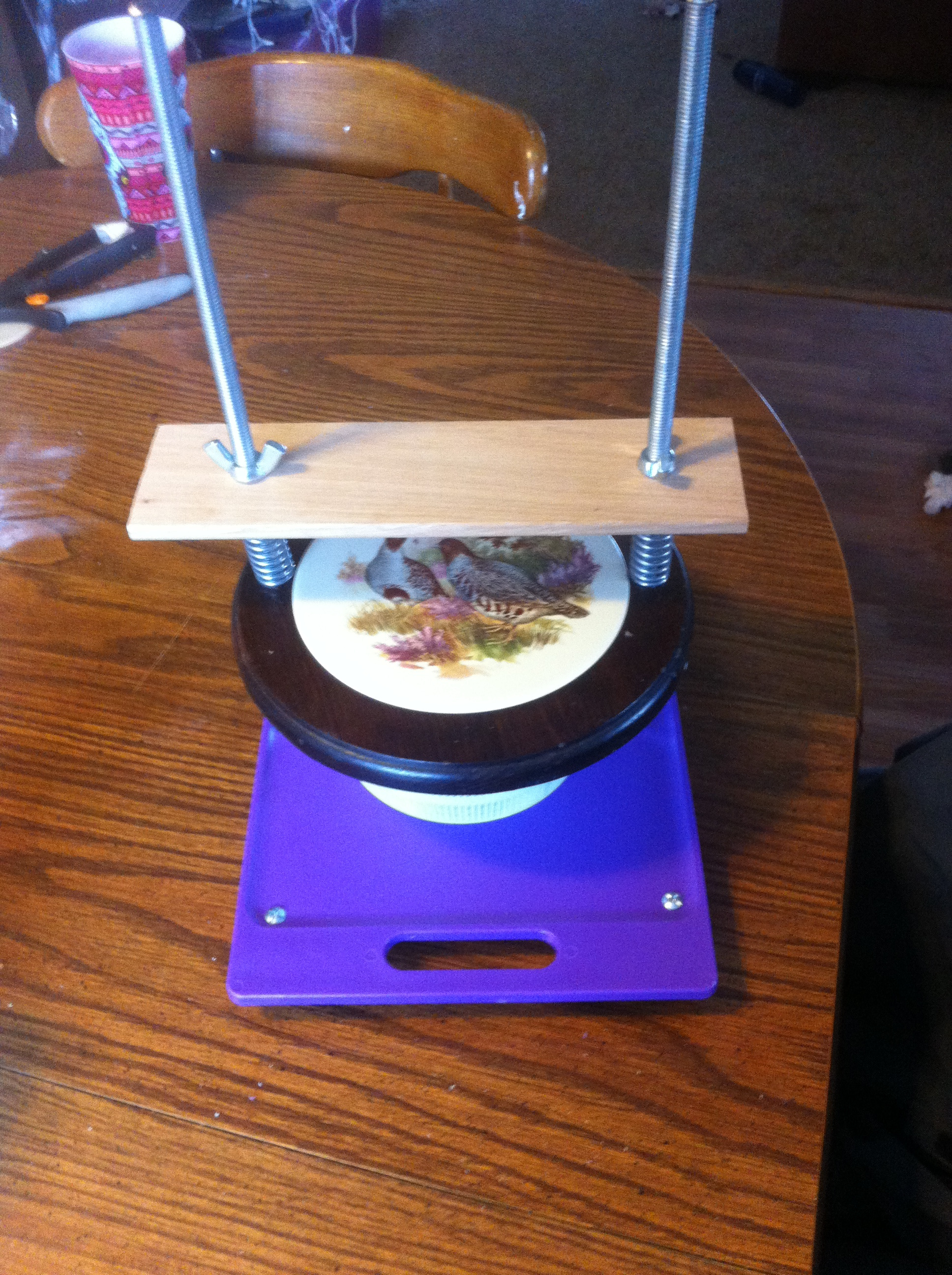 A Simple and Inexpensive Cheese Press