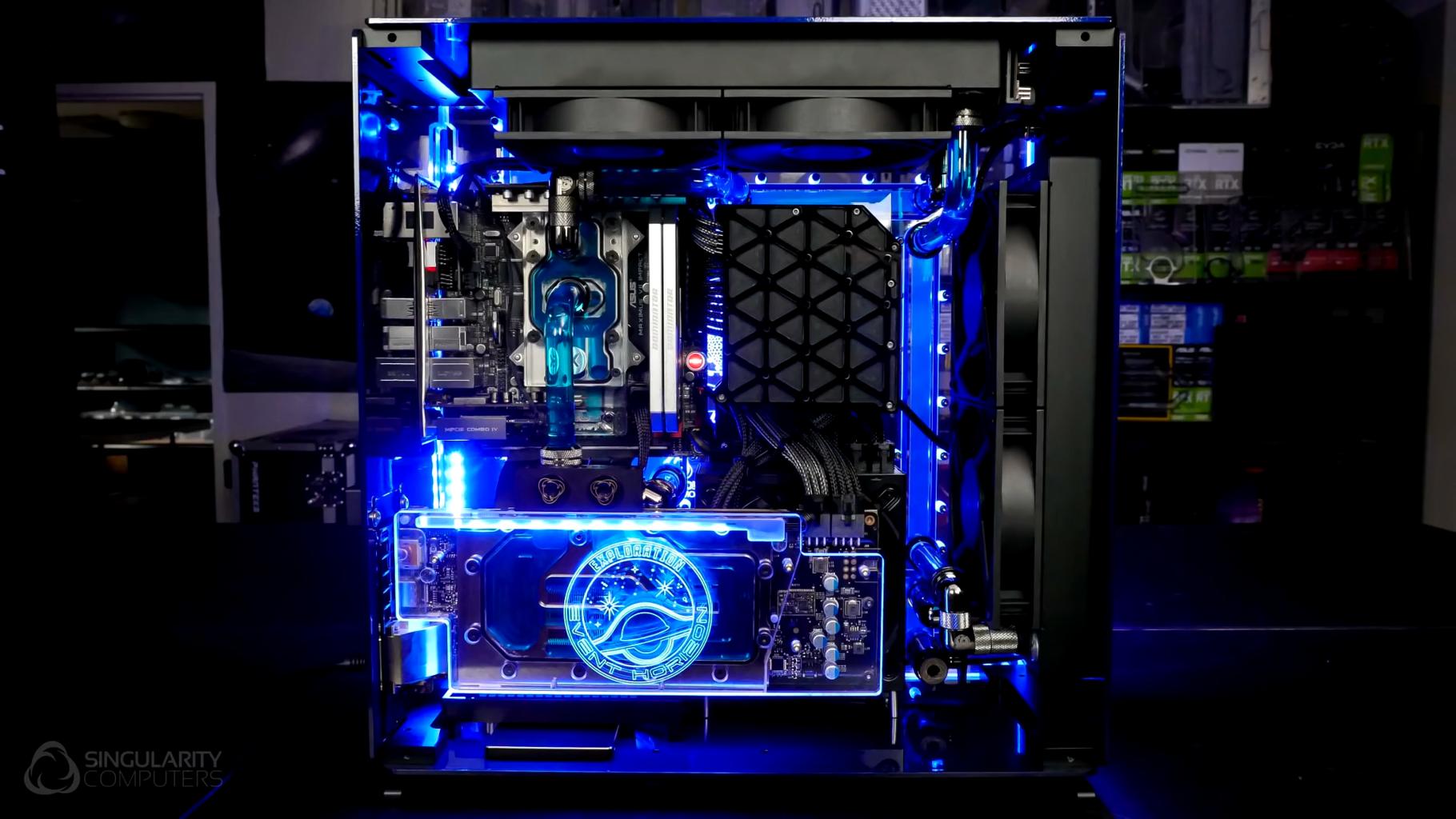Event Horizon Watercooled PC Build