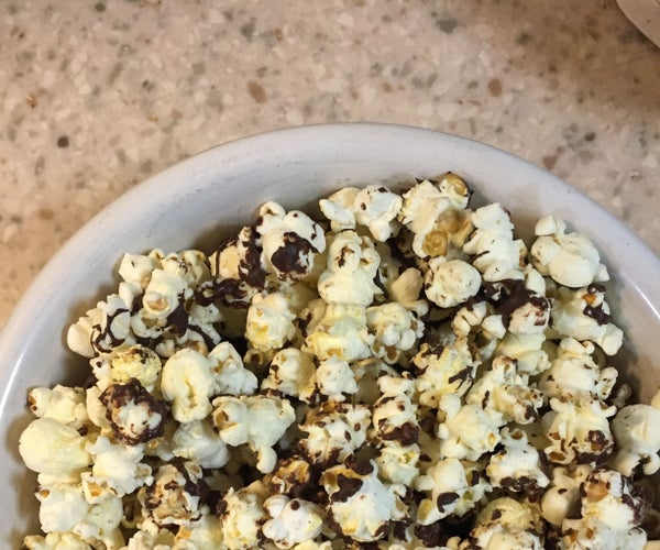 Chocolate-Covered Popcorn