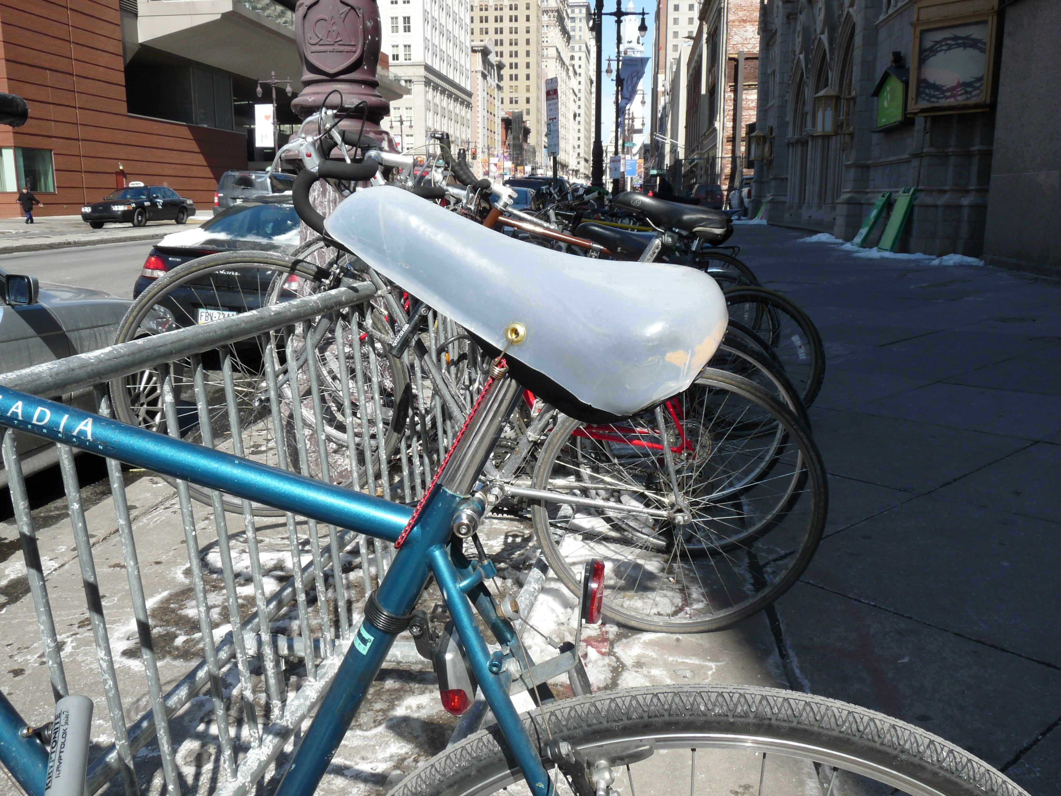 Bicycle Seat Condom