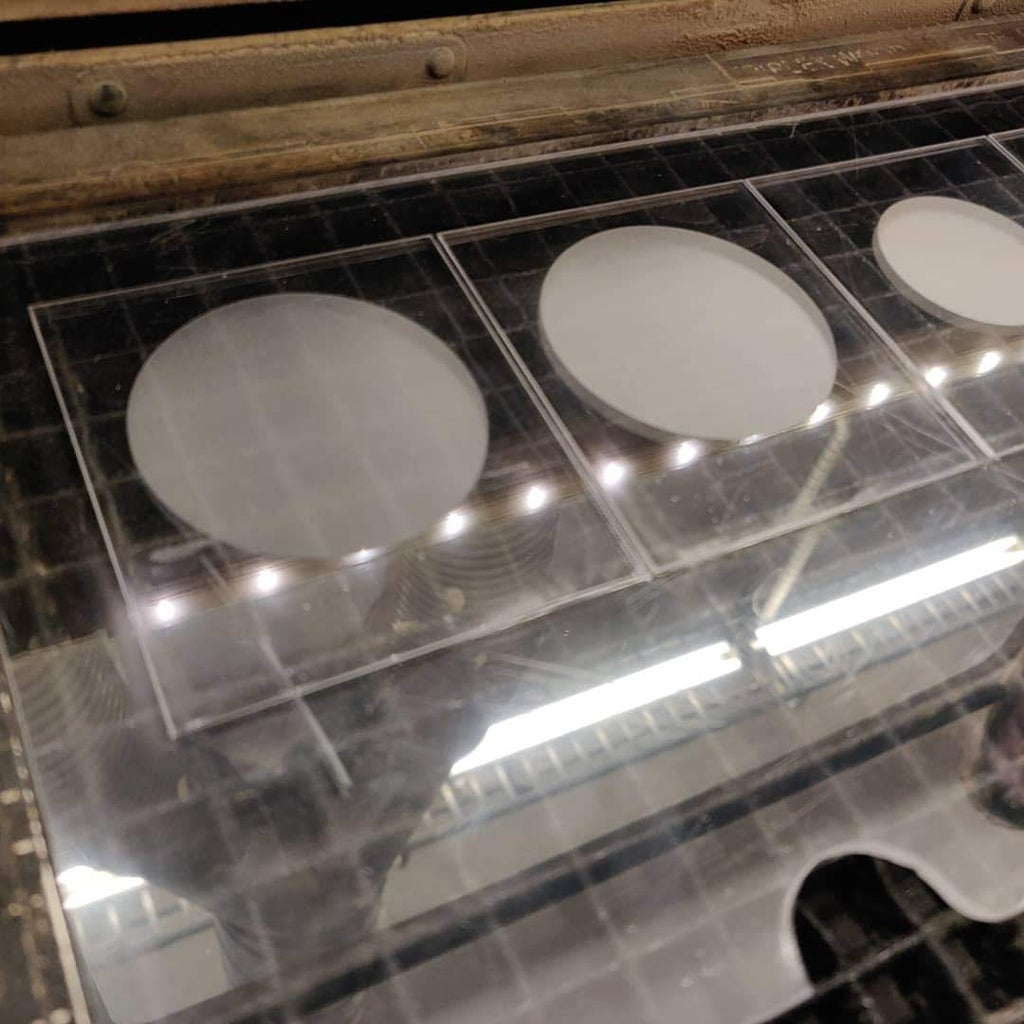 Step 2: Laser Etching and Lighting Testing