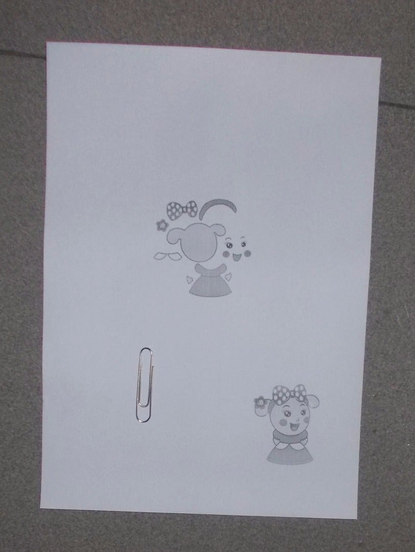 Print It in A4 Size Paper and Take a Clip Bookmark