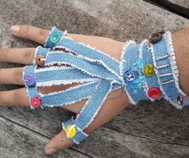 Old Denim's Cloth Bracelets
