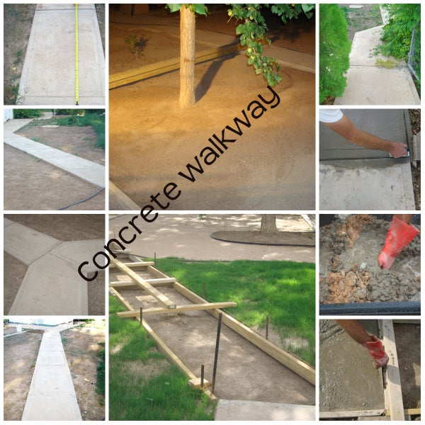 Concrete Sidewalk or Pavement