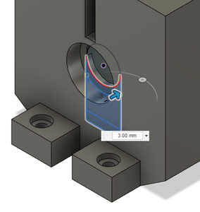 Design Process - Stationary Fixture - Bearing Extra Support