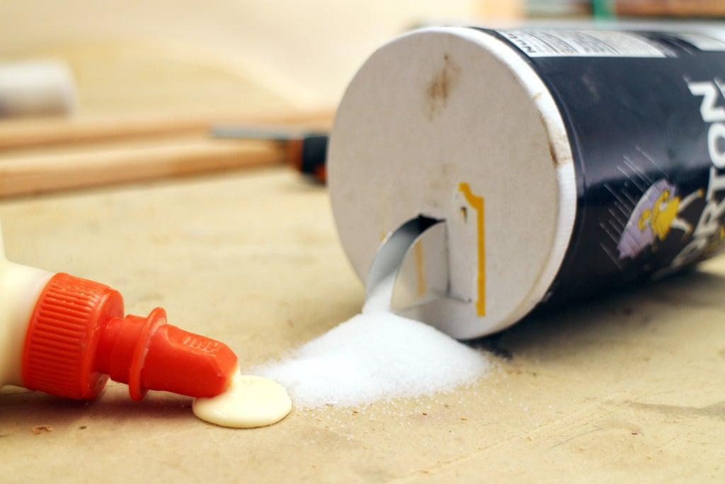 Keep Slippery Glue-Ups Steady