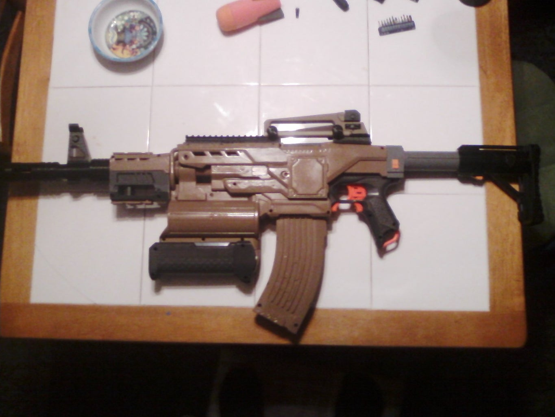 Nerf Demolisher Desert M4 Carbine