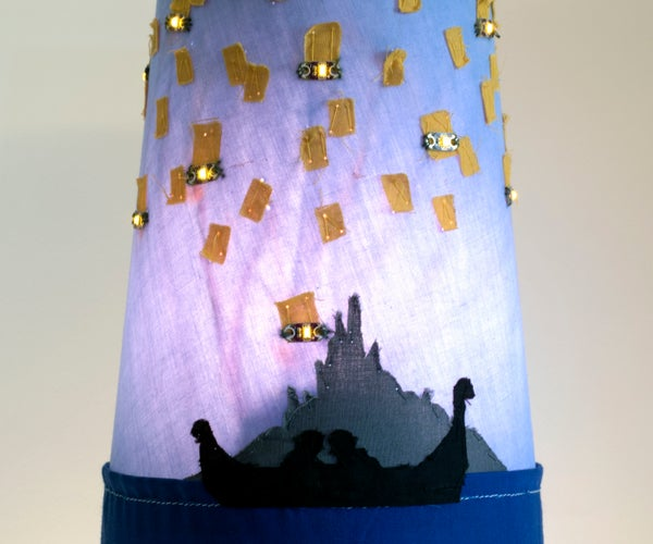 """I See the Light"" Lamp Shade"