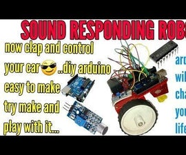 SOUND RESPONDING ROBOT