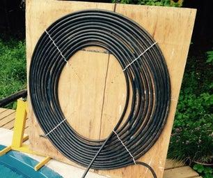 DIY 1 Hour Solar Pool Heater