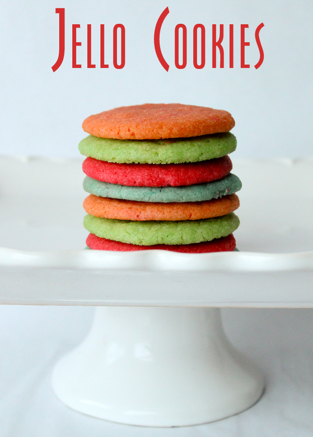 {JELLO Cookies}