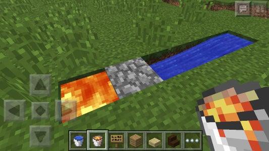 Minecraft PE: Unlimited Cobblestone Generator