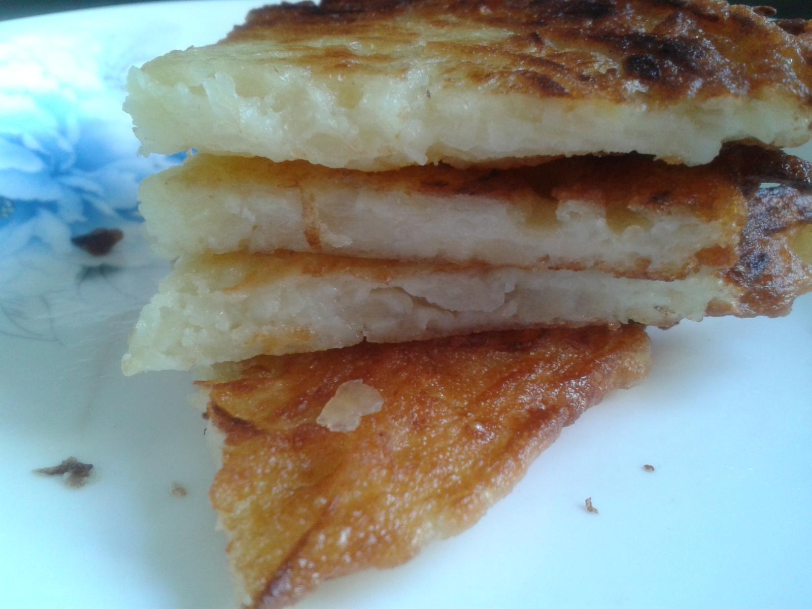 Fried Potato Cake
