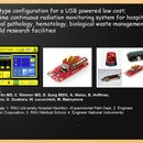 Prototype configuration for a USB Powered Low cost; real time continuous radiation monitoring system for Hospital Surgical Pathology, Hematology, Biological waste management and Research facilities
