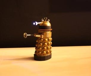 DIY Dalek Ornament