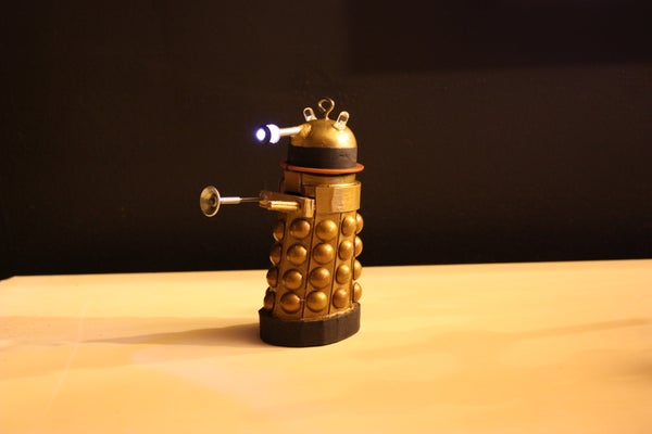 DIY Dalek Ornament
