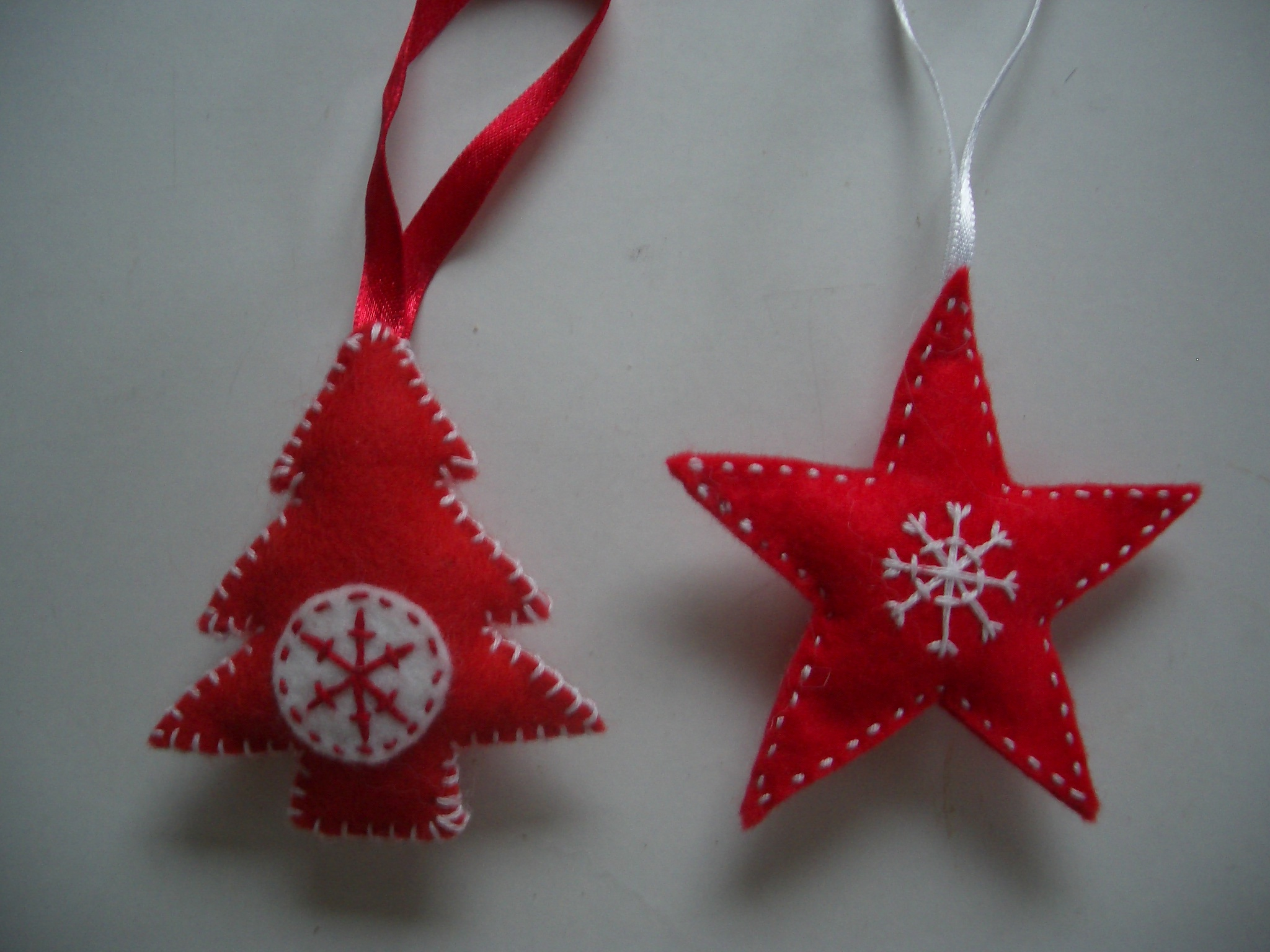 Scandinavian Style Felt Christmas Tree Decorations With Pictures Instructables