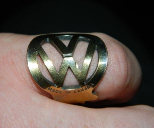 Volkswagen (VW) Ring From Old Key
