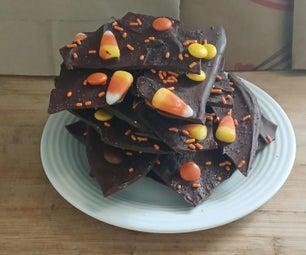 Halloween/ Harvest Chocolate Bark