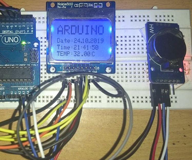 Simple Arduino Watch
