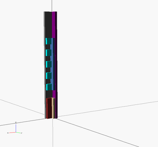 Build the Vertical Supports
